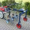 L123F ZT scoffelmachine met hef en wielstel